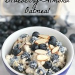 Cool and Creamy, 5-Minute, No-Cook Blueberry-Almond Oatmeal (With Make-Ahead, Overnight Oats Option, Too!)