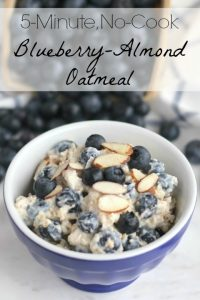 THK Instant Blueberry Oats Text