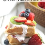 "Waffle Sundae Bar (for Brunch, Dessert or ""Brinner""!)"