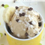 """Instant"" Peanut Butter-Banana Ice Cream (Just 5 Minutes and 5 Ingredients!)"