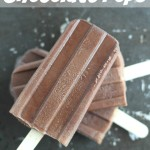 4-Ingredient Fat Free Chocolate Pops (Easy Homemade Fudgesicles)