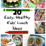 Easy, Healthy Kids' Lunch Ideas (A Whole Month of Fun Lunch Box Recipes!)