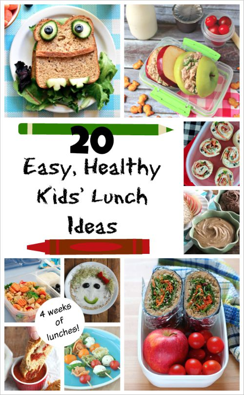 easy healthy kids 39 lunch ideas a whole month of fun