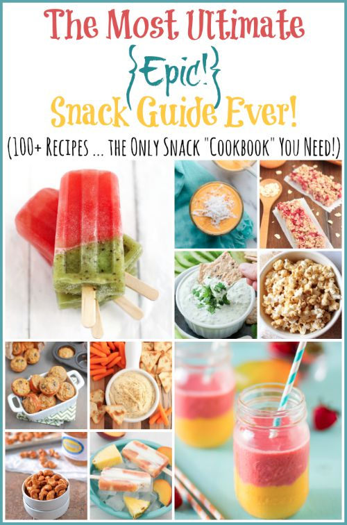 Easy snack recipes that are healthy