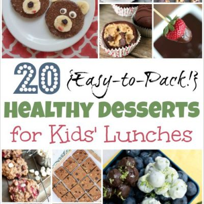 20 Easy-to-Pack, Healthy Desserts for Kids' Lunches