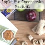 No-Bake Apple Pie Cheesecake Pinwheels