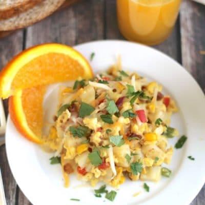 Southwestern Breakfast Skillet Scramble