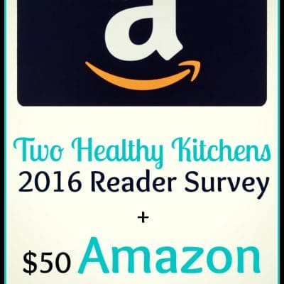 Our First-Ever Reader Survey + $50 Amazon Giveaway