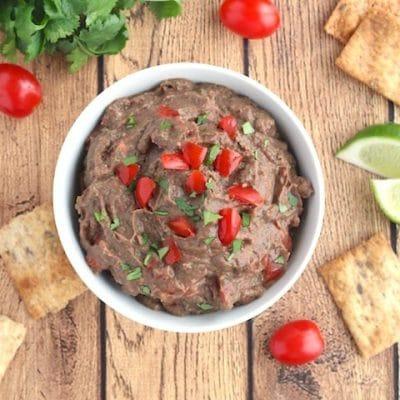 Mexican Fiesta Black Bean Hummus