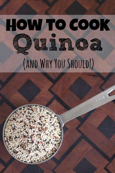 How to Cook Quinoa (and Why You Should!) {www.TwoHealthyKitchens.com}