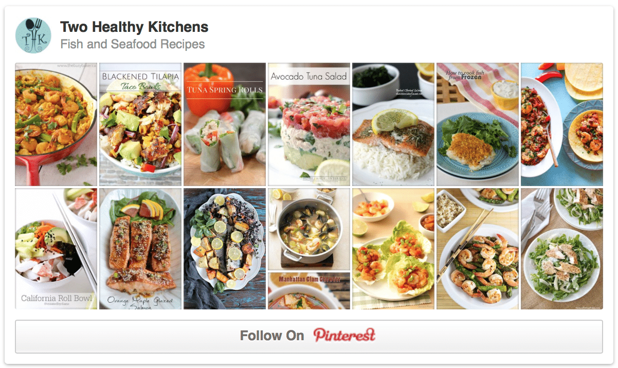 Fish and Seafood Pinterest Board