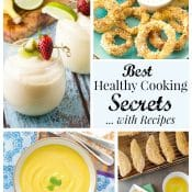 Food Bloggers' Best Healthy Cooking Tips and Swaps ... with Recipes!