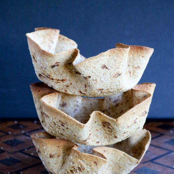 Cumin-Dusted Bread Bowls