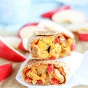 Chicken-Apple Sausage Breakfast Burritos (Freezable Make-Ahead!)