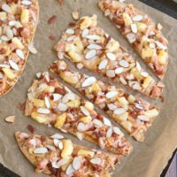 Sweet and Sour Chicken Flatbread Pizza
