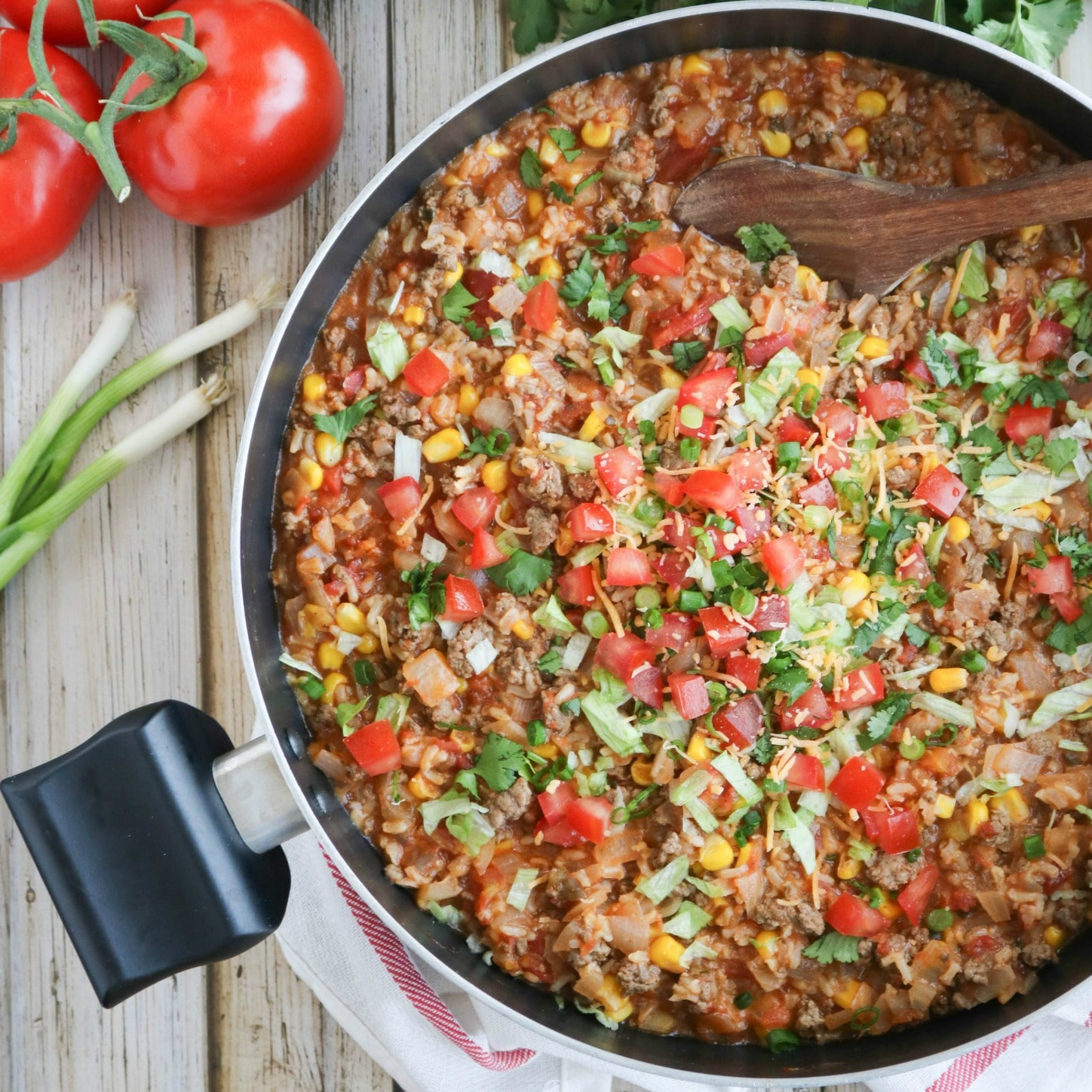 A Fun Easy Way To Shake Up The Typical Taco Night This Mexican Rice