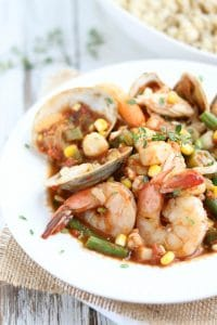 Seafood Stew Closeup vert Watermarked