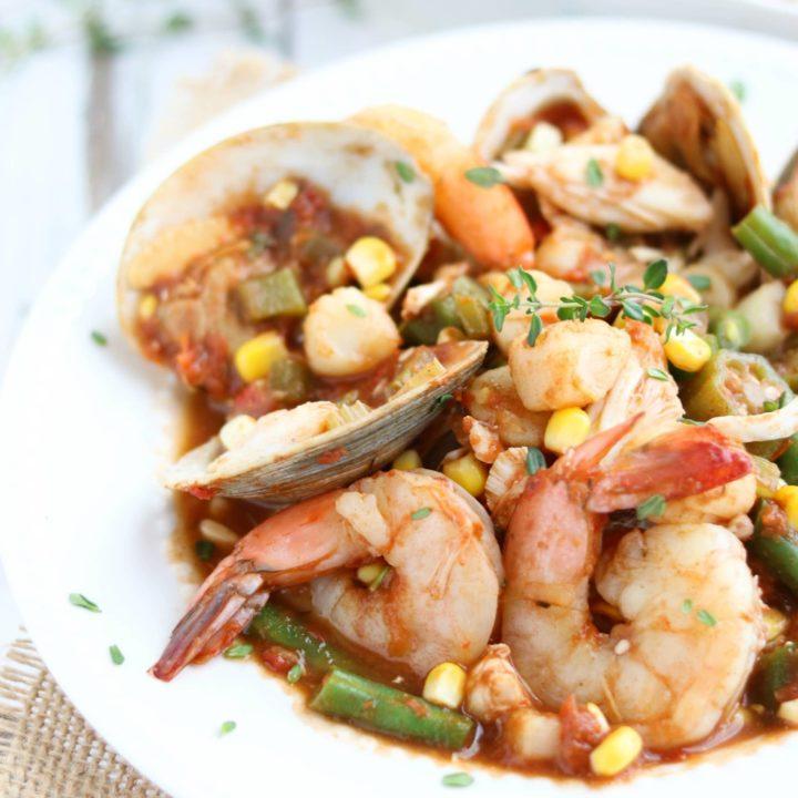 Sea Island Seafood Stew