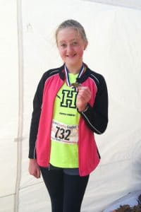 Amy with Medal