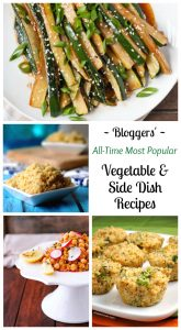 Best Vegetable Recipes Collage