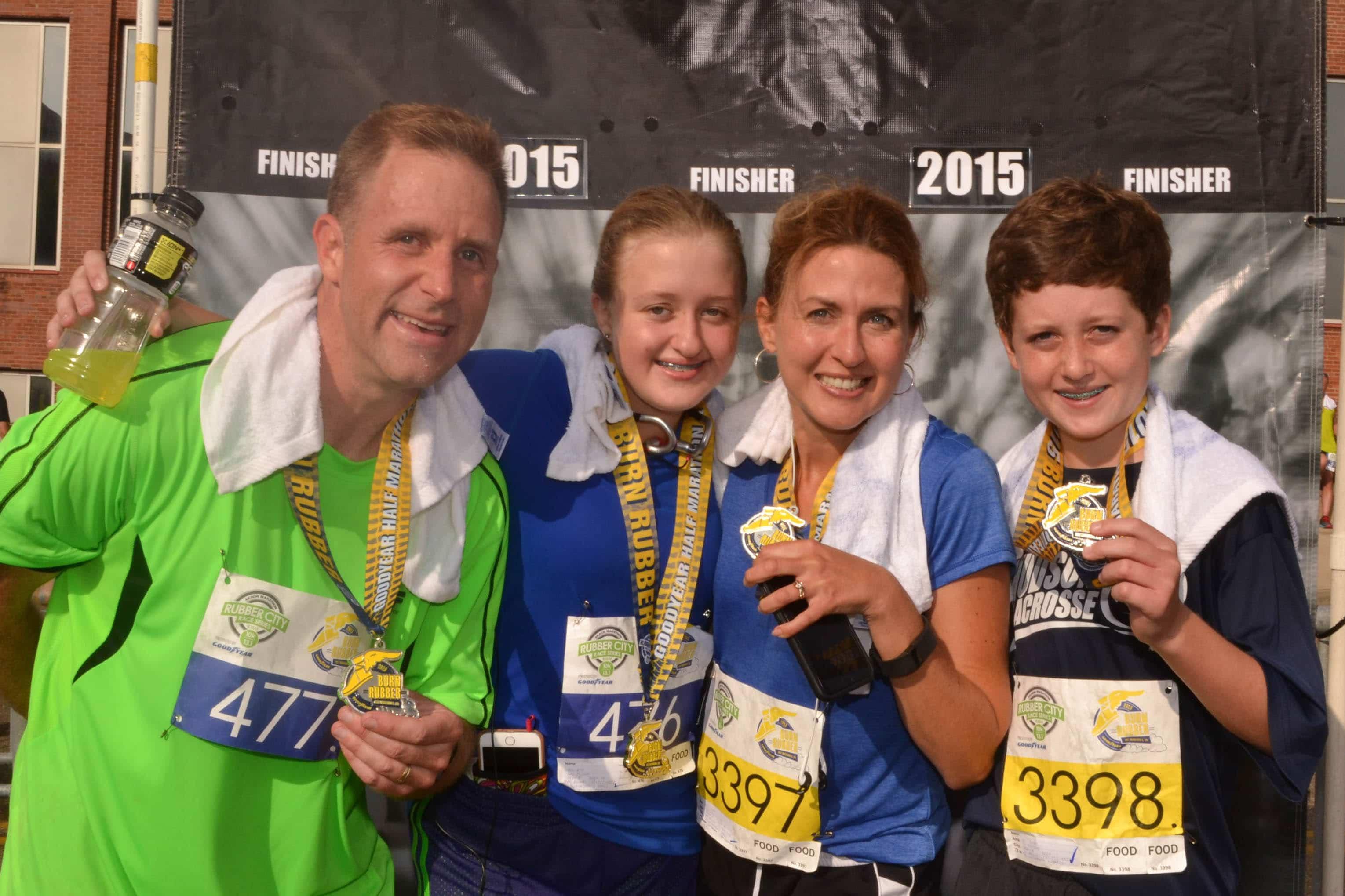 Family at Marathon