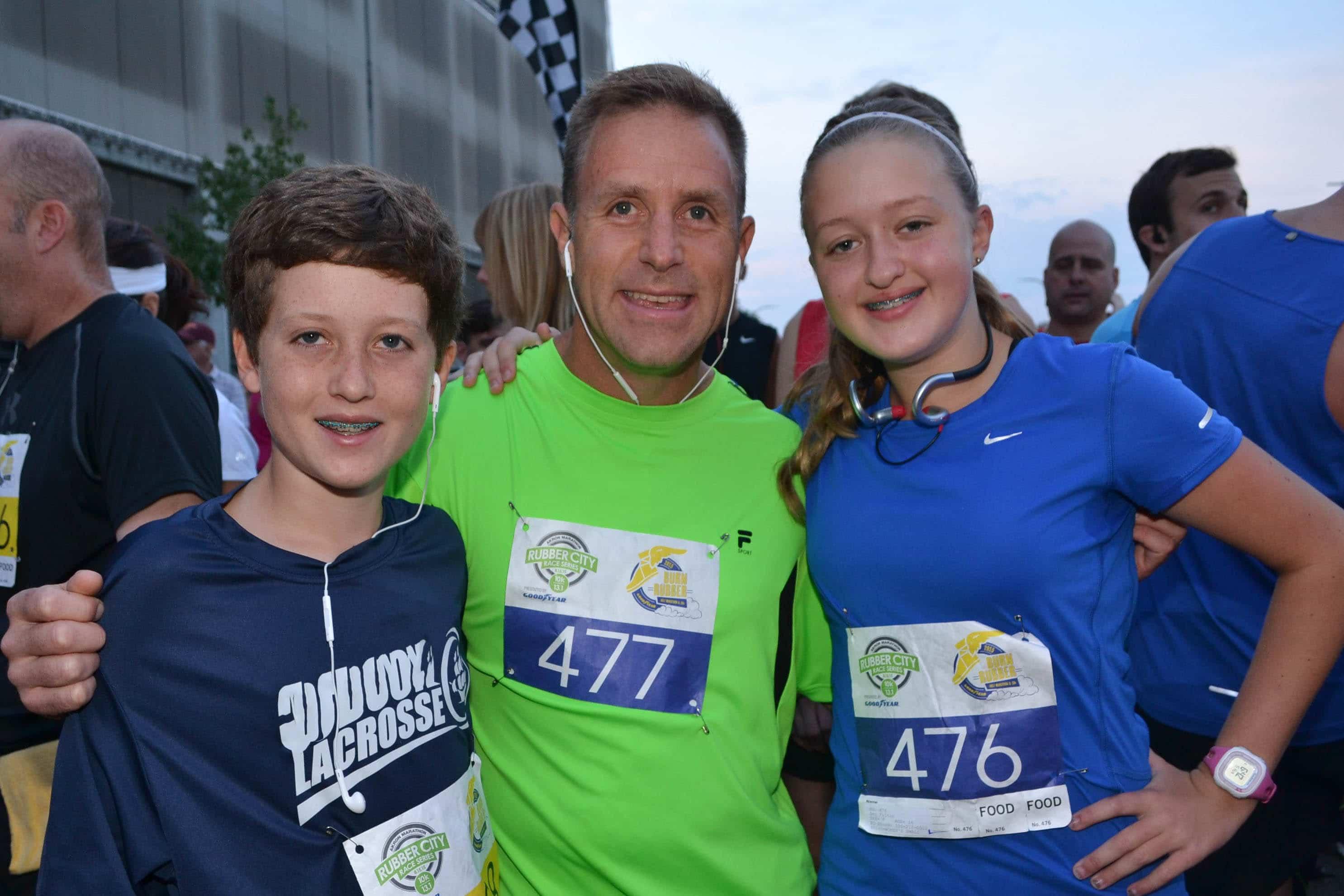 Three at Marathon