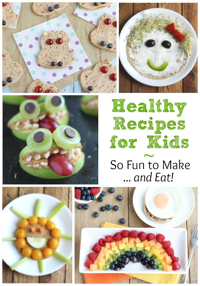 Our favorite summer recipes for kids fun cooking for Cool food ideas for kids