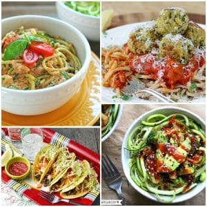 Vegetarian Meals Roundup Facebook Collage