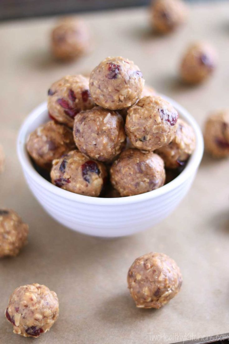 Crunchy Granola Snack Bites (+ 6 Other Energy Ball Recipes, Below)