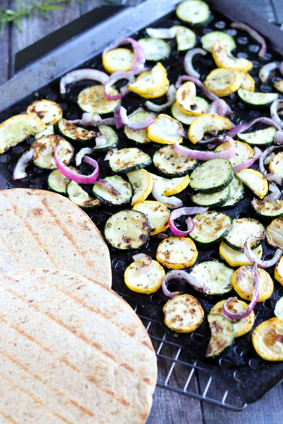 Grilled Zucchini Flatbread Grill Rack And Watermarked These Easy Summer Flatbreads Can