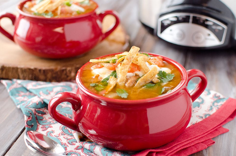 Big flavors and nourishing ingredients - perfect comfort food! These all-time most popular chili and soup recipes are bloggers' best – and such easy dinner recipes for fall and winter! From vegetarian and vegan recipes (great for Meatless Monday), to classics like turkey chili and chicken tortilla soup! Even some slow cooker crockpot recipes! Yummy, healthy recipes your whole family will love! These soup and chili recipes prove that comfort food can be healthy, too!   www.TwoHealthyKitchens.com