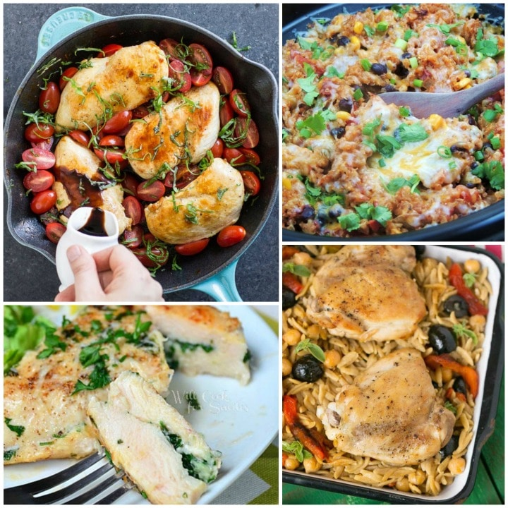 11 All Time Best Healthy Easy Chicken Recipes Two Healthy Kitchens