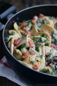 cheesy-blt-pierogi-skillet-dinner-hero-vert