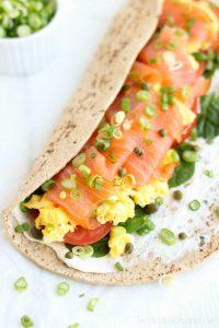 easy-smoked-salmon-breakfast-wrap-folded