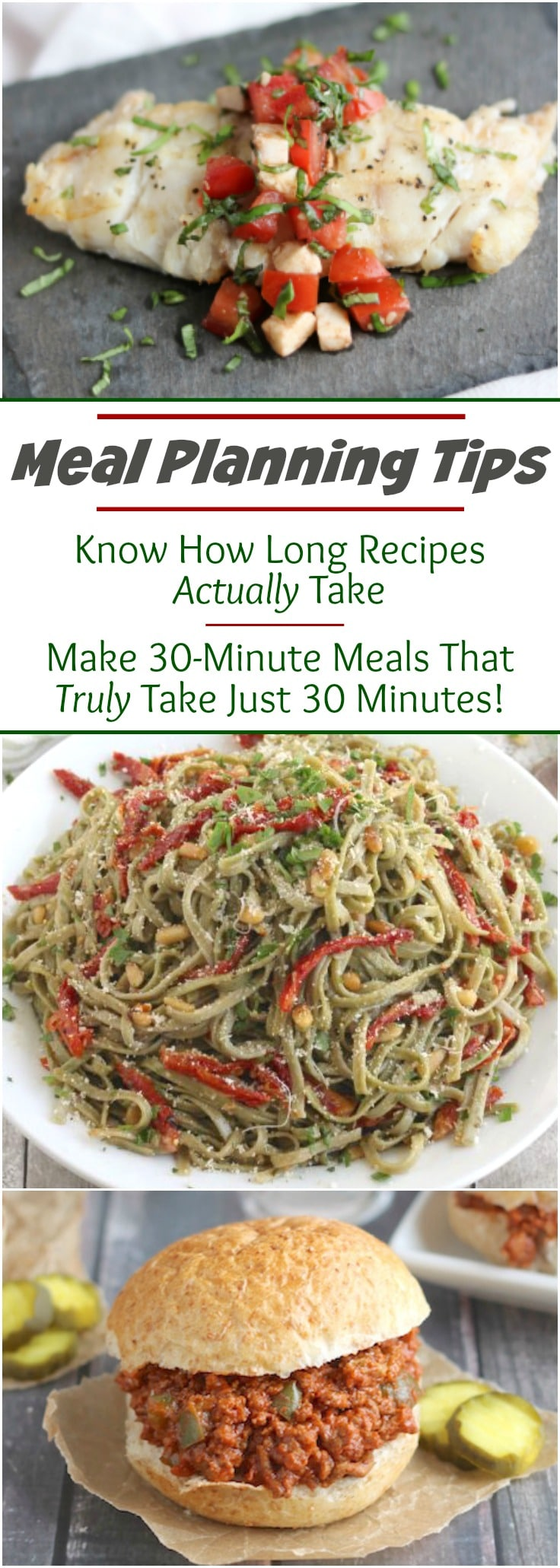 Insider info and tips to help you meal plan & cook smarter! Because meal planning isn't easy! For one thing ... why is it that recipe prep times never seem accurate, and 30-minute meals rarely seem to take just 30 minutes in real life? Ever wonder how on earth those recipe times get calculated? Here's how it all happens ... and how you can use that info to cook smarter! So the next time you create a meal plan, you can maximize your time in the kitchen! | www.TwoHealthyKitchens.com