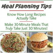Meal Plan Smarter: Estimating REAL Recipe Prep Times