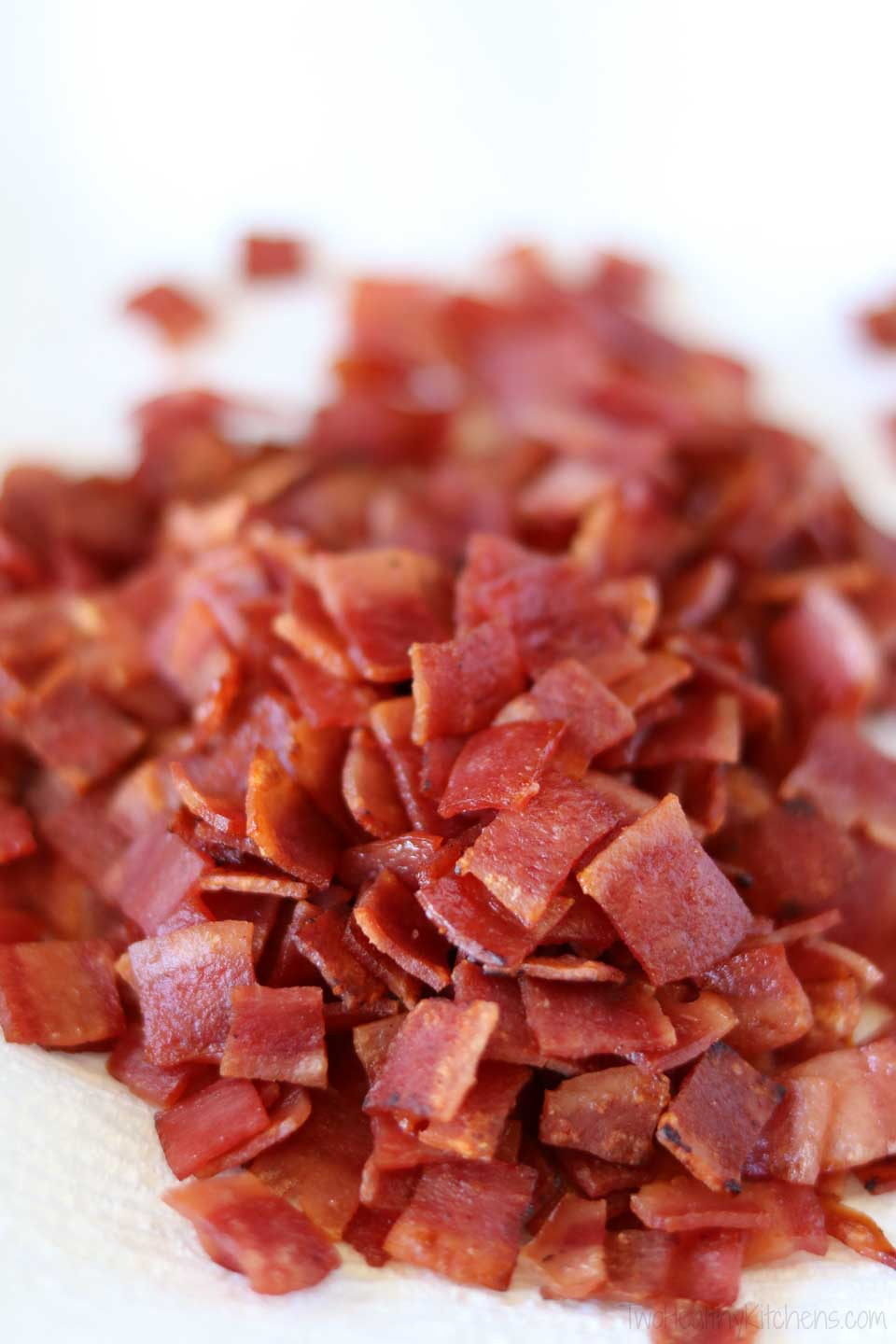 If you don't care for turkey bacon, center-cut bacon is still a relatively lean, lighter option compared with regular, full-fat bacon or with prosciutto.