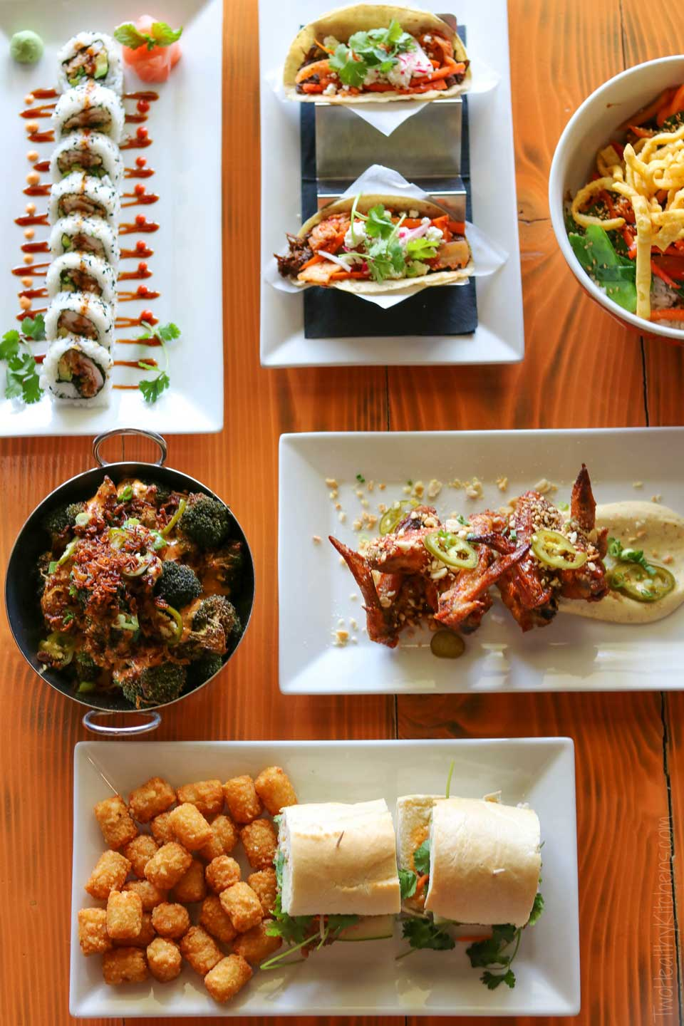 At Buddha'Licious, Chef Bryant artfully combines Southeast Asian cuisine with the familiar flavors of the American South.