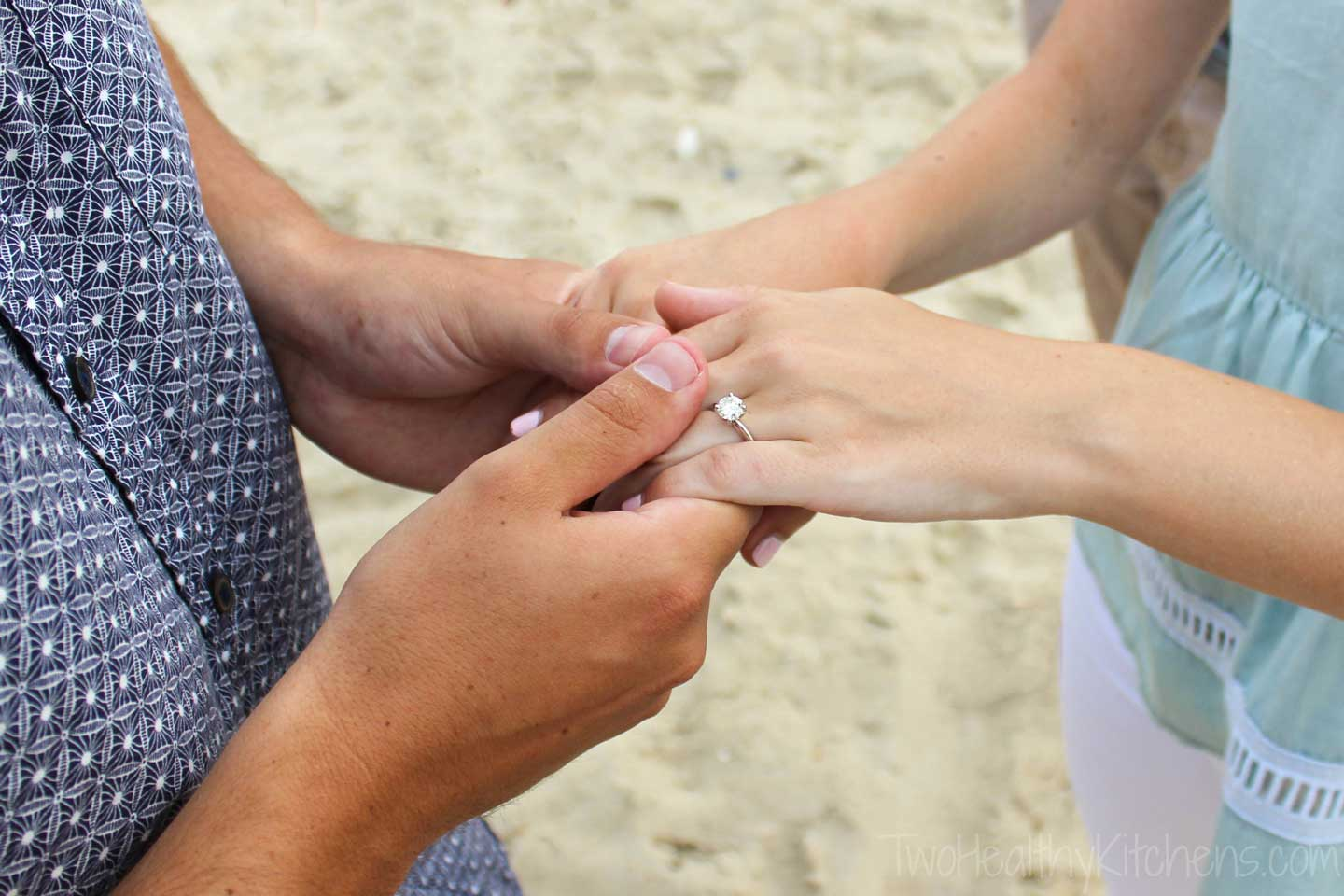 We celebrate lots of traditions and family moments together in North Carolina's OBX, but a long-anticipated engagement is a highlight we'll never forget!
