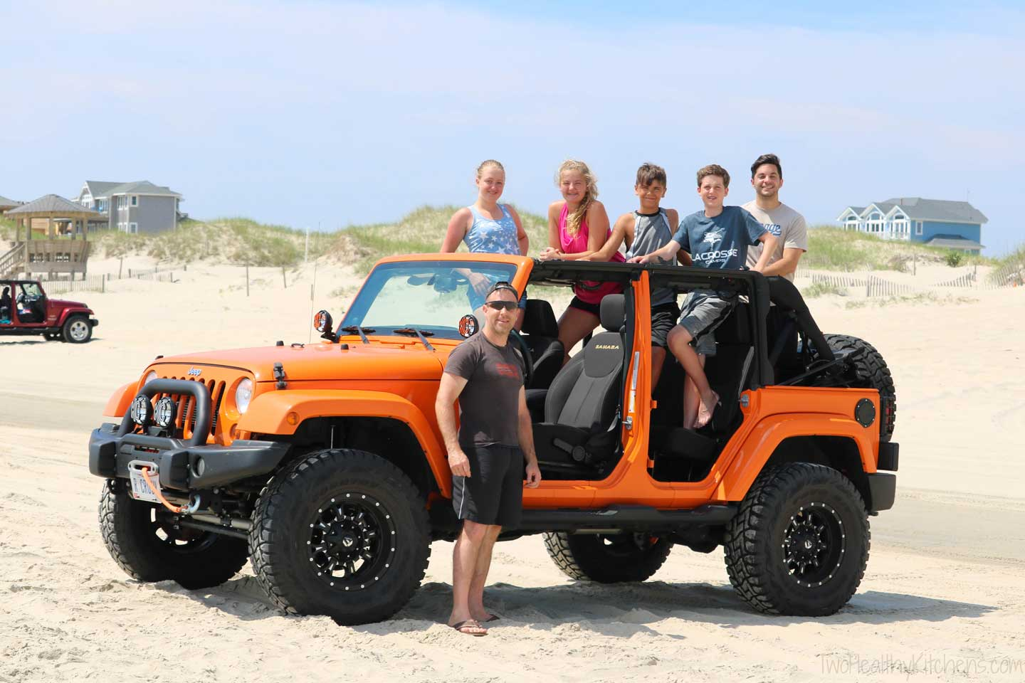 We love the Carova 4-wheel drive beaches just north of Corolla! So much fun … and the perfect reason to own a Jeep!