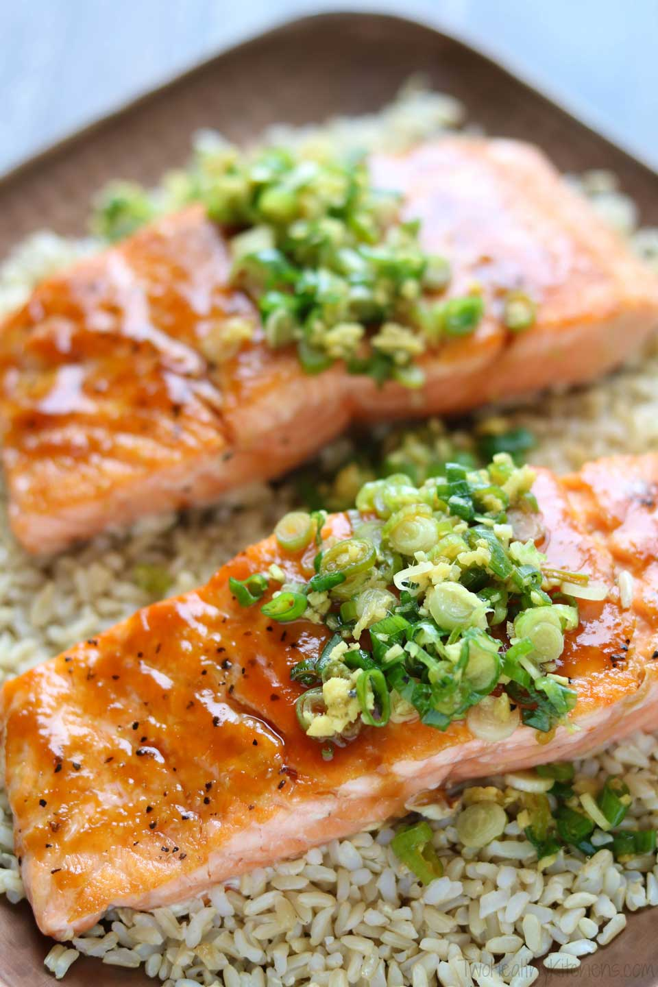 """Thanks to simple but effective techniques and flavorful ingredients, this Red Miso Glazed Salmon is quick and easy yet offers a big """"wow"""" factor."""