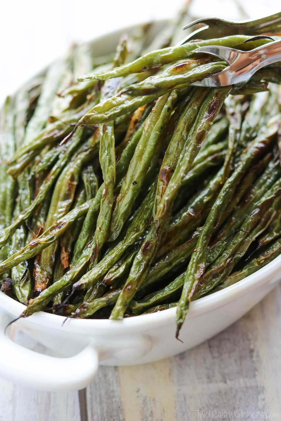 This green bean recipe is a beautiful, easy side dish!