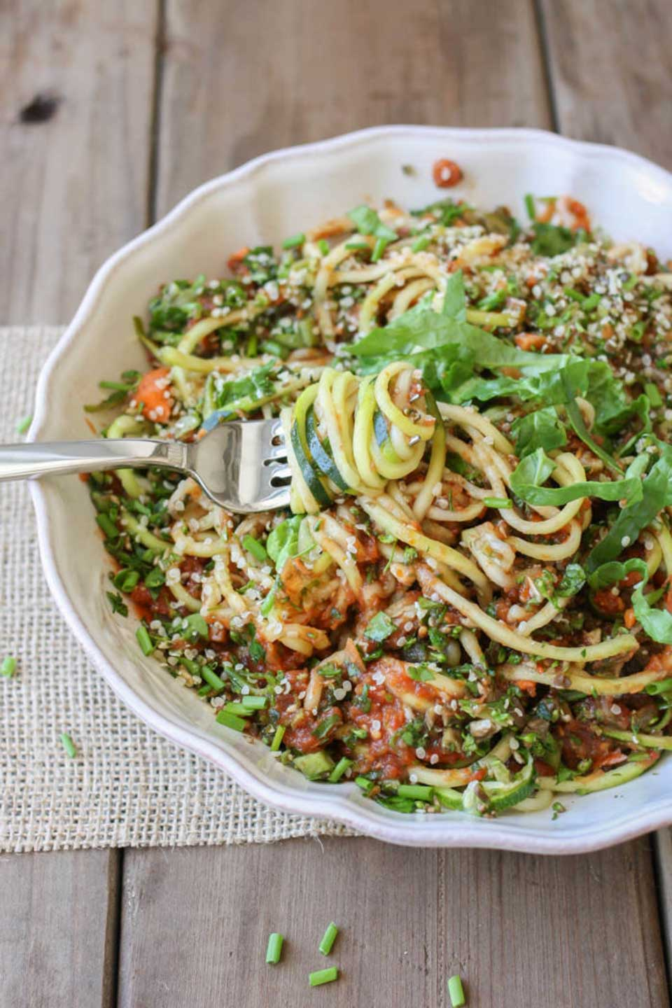 33 Game-Changing, Healthy Zoodles (Zucchini Noodles) Recipes - Two Healthy Kitchens