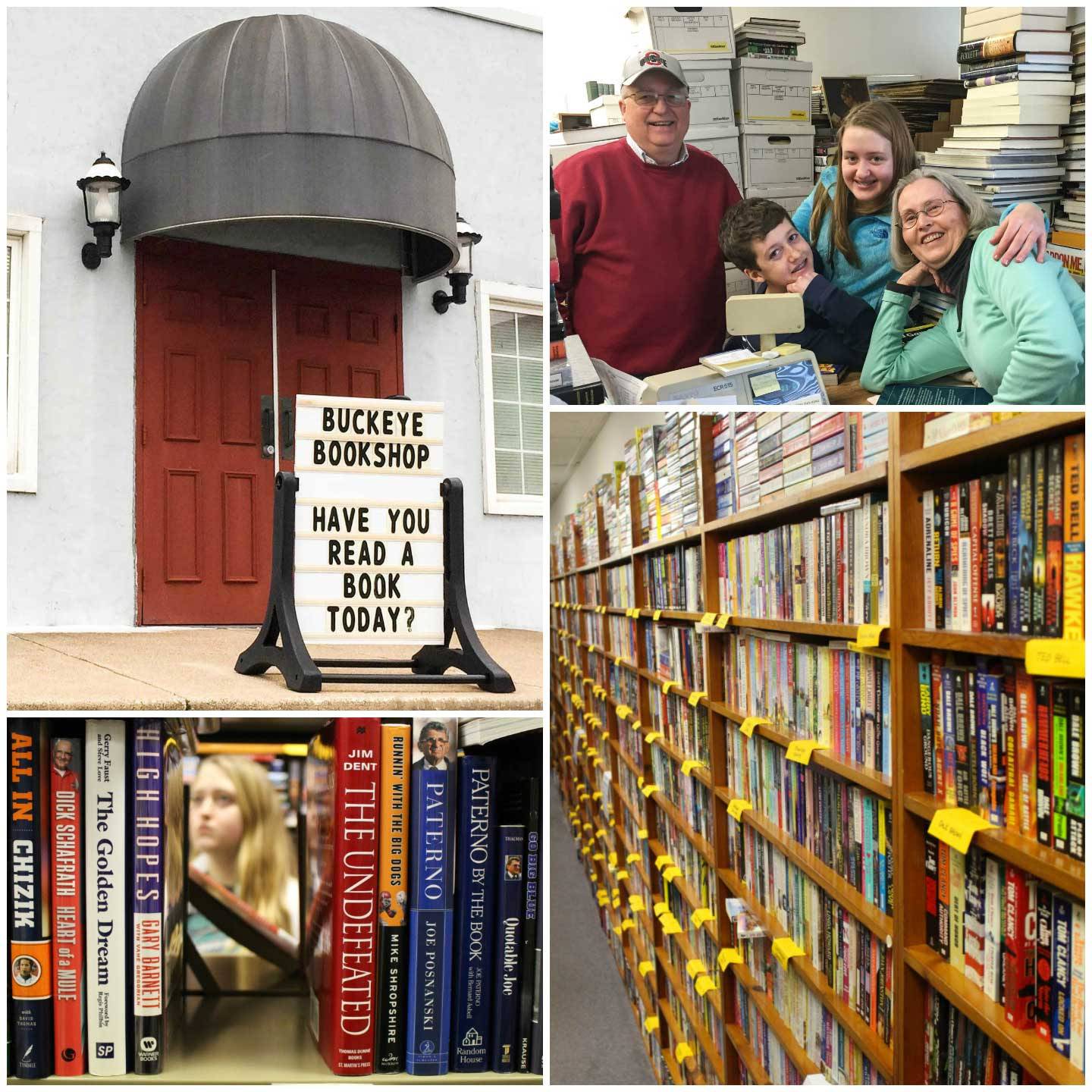 My parents' bookstore, Buckeye Bookshop, is such an important part of my family, and books are an integral part of all of our lives.