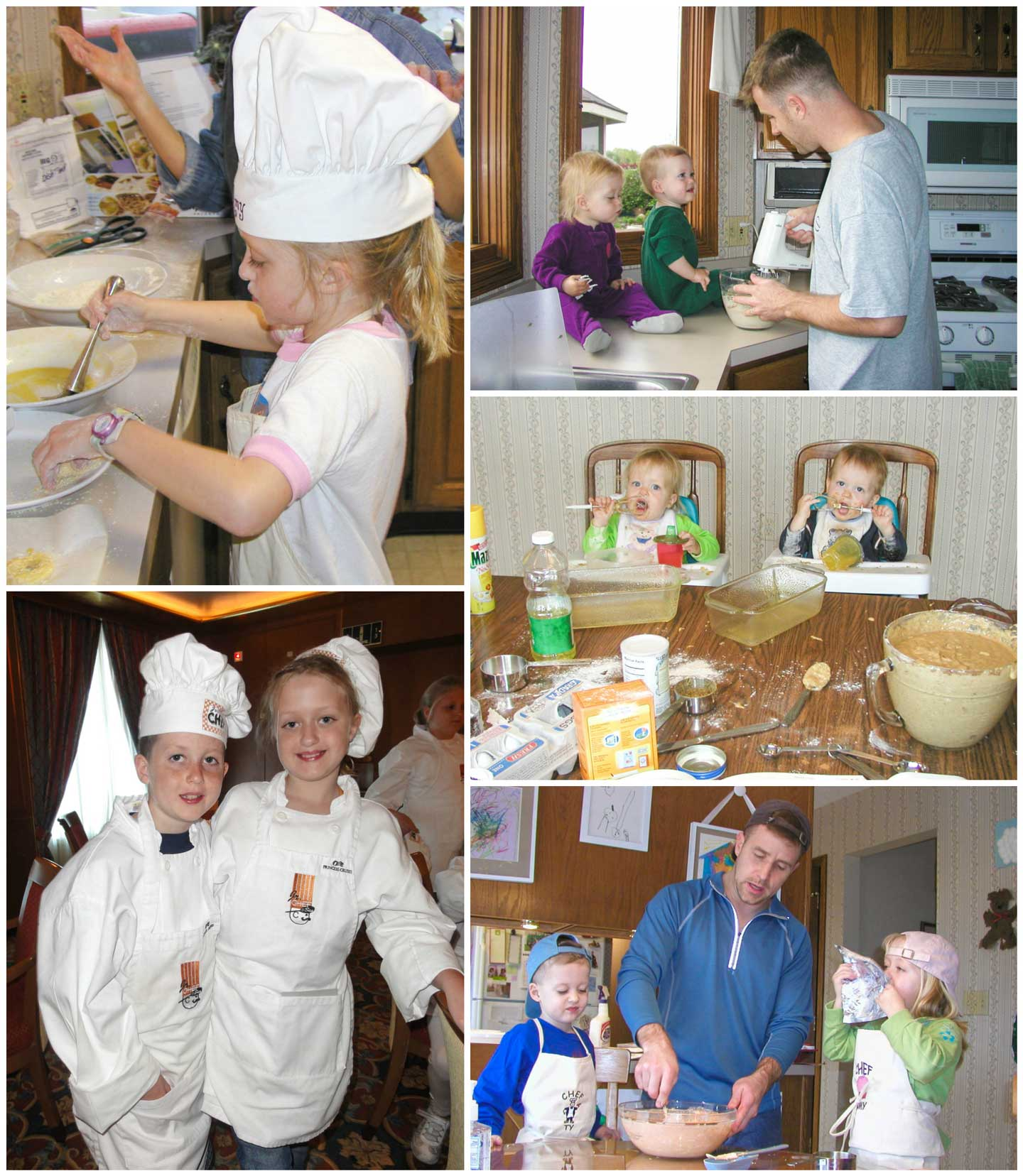 I have so many special memories of cooking with my family – from long, long before we even had our cooking blog!