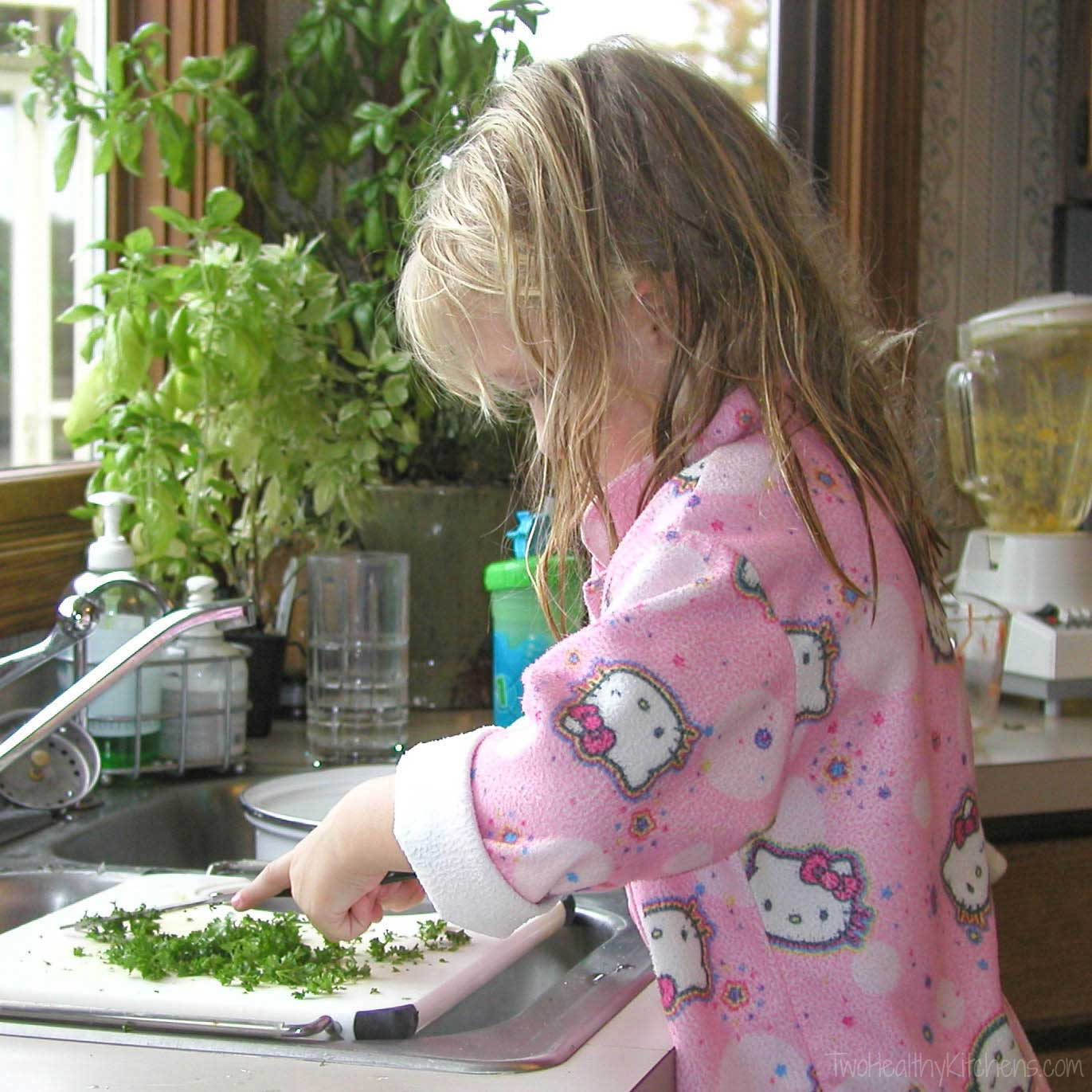 You're never too young to learn to cook! Even little kids can start to learn basic cooking skills that'll last a lifetime!