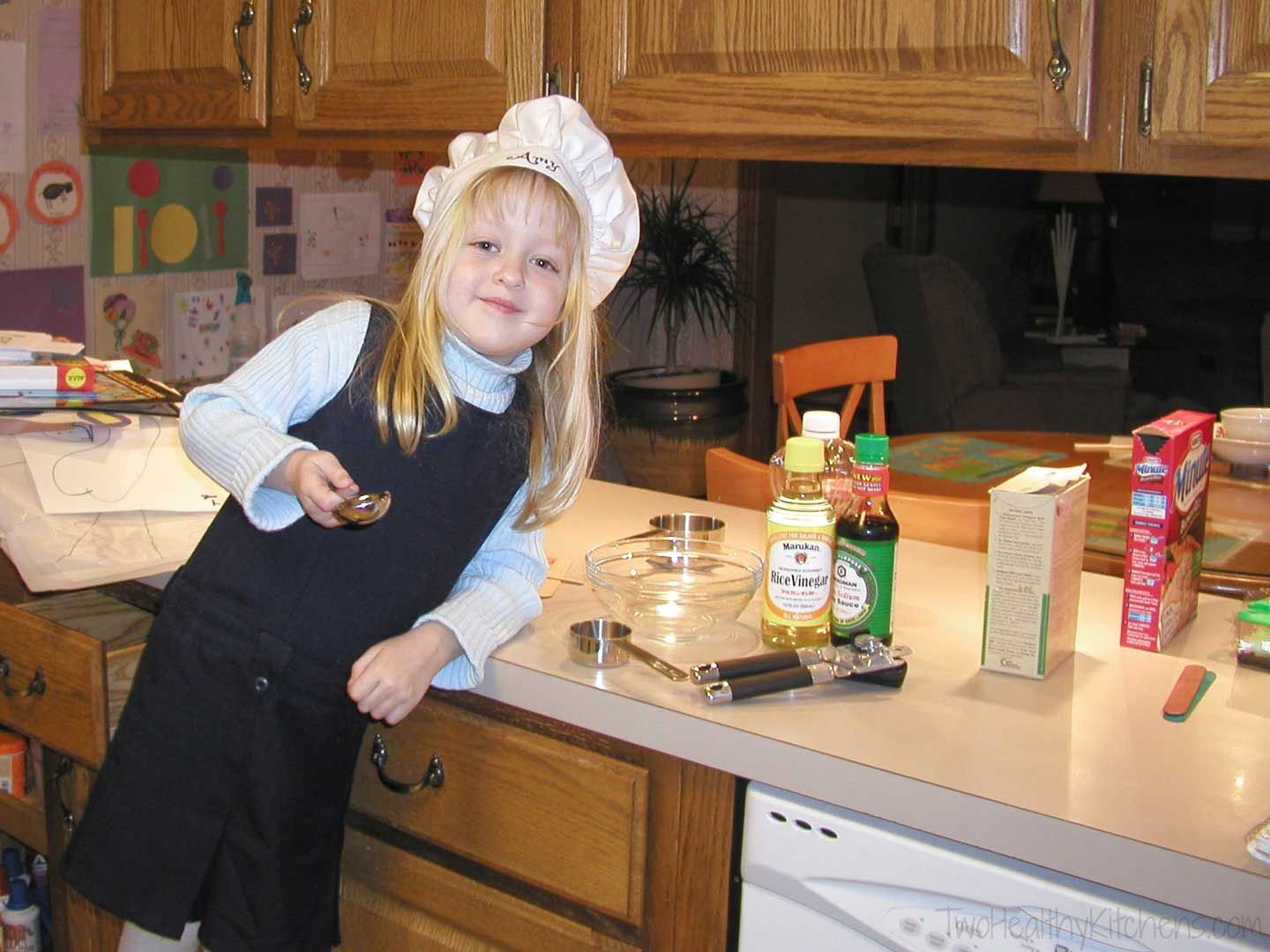 Even as a little girl, I loved to cook, but I feel like there's so much more for me to learn about cooking!