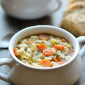 Quick & Easy Chicken Noodle Soup with Rotisserie Chicken
