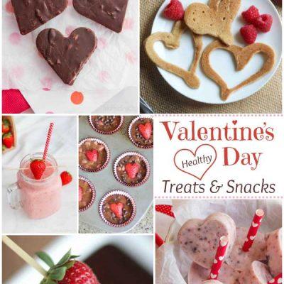 Easy, Healthy Valentine's Day Treats and Snacks