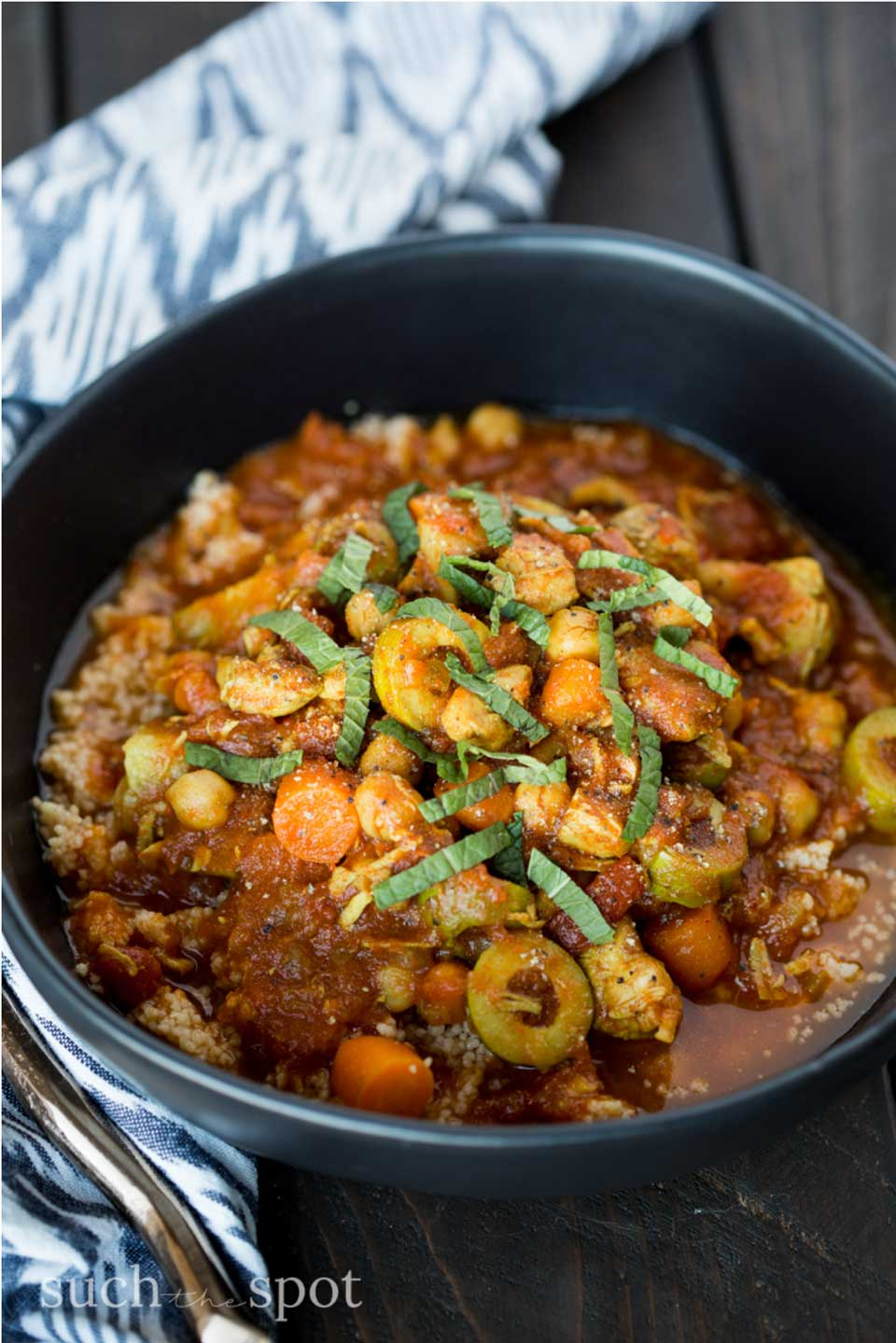 Great flavor twist! Instant Pot Moroccan Chicken Stew from Darcie at Such the Spot is a healthier alternative – be sure to check out all our great stew recipe ideas, plus healthy tips and tricks, too!